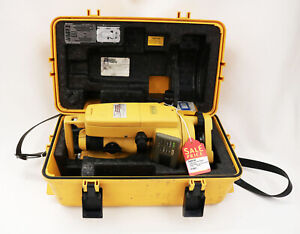 Topcon Dt 104 Digital Theodlite Dt 100 Series Transit Surveying Level With Case