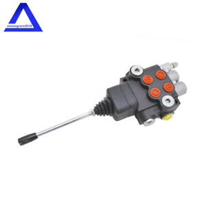 Hydraulic Directional Control Valve For Tractor Loader W joystick 2 Spool 21gpm