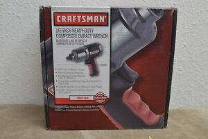 Craftsman 1 2 In Pneumatic Composite Heavy Duty Impact Wrench 19984