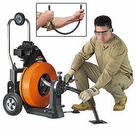 General Wire Maxi rooter Drain Sewer Cleaning Machine W 100 X 3 4 Cable 8
