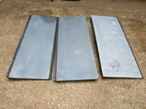 02 03 04 05 06 12 13 Chevy Avalanche Tonneau Bed Cargo Cover Panels Set Oem Gray
