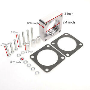 For Jeep Xj Yj Tj Wj 4 0l 2 5l Rough Country 4 bolt Throttle Body Spacer