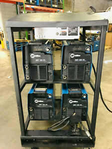 Miller Xmt 350 Cc cv 4 pack Welder Multiprocess