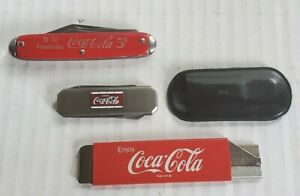 Vintage Coca-Cola Box Cutter  5 Cents Knife  and Barlow Knife!!