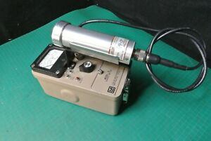 Ludlum 3 Geiger Counter With 44 7 Probe Tube Geiger Radiation Survey Meter
