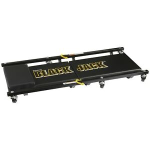 Black Jack 36 Inch 2 Piece Shop Creeper Bed With 6 Wheels