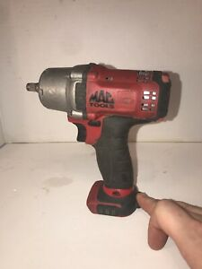 Mac Tools Bwp038 3 8 Drive Cordless Impact Wrench 12v Works Perfectly
