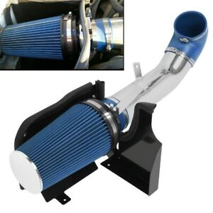 Blue 4 Heat Shield Cold Air Intake System filter Fit Gmc chevy V8 4 3 5 3 4 8l