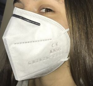 Protective Kn 95 Respiratory Breathing Face Mask Ce Certified