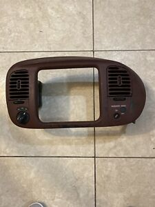 1997 2003 Ford F150 Expedition Bezel Dash Insert Trim Airbag Red