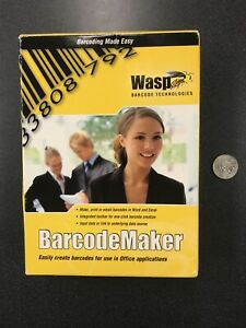 Wasp Fast Start silver Partners 633808105167 Wasp Barcodemaker Single Pc