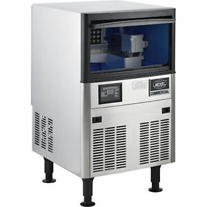 Self contained Under Counter Ice Machine Air Cooled 120 Lb Production 24 Hrs