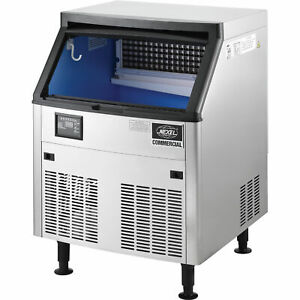 Self contained Under Counter Ice Machine Air Cooled 160 Lb Production 24 Hrs