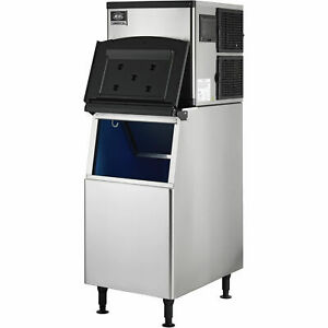 Modular Ice Maker With Bin Air Cooled 350 Lb Production 24 Hrs