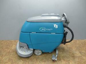 Tennant T5 Eco H2o 32 Battery Disk Floor Scrubber New Batteries Nice Condition