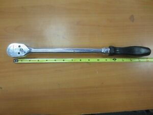 Snap On Sl836 Ratchet 1 2 In Drive 16 Inch Long