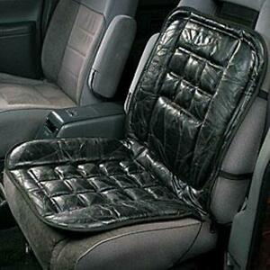 Leather Car Seat Cushion Back Support Office Chair Lumbar