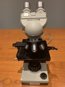 Bausch Lomb Khs Binocular Microscope Fully Operated one Owner