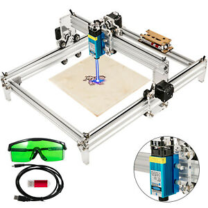 7000mw Mini Cnc 3040 Laser Engraver Kit Gray Engraving Router Wood Plastic Us