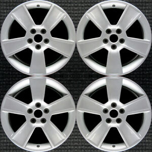 Ford Mustang All Silver 18 Oem Wheel Set 2006 To 2009