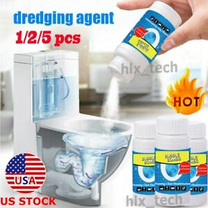 1 2 5pcs Fast Foaming Toilet Cleaner Dredge Powder Bubble Bombs Kitchen Cleaning