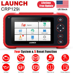 Launch X431 Crp129i Auto Obd2 Diagnostic Scanner Tablet Code Reader Abs Srs Tpms
