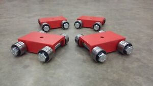 Made In Usa Machine Moving Skate Dolly Roller Set 4