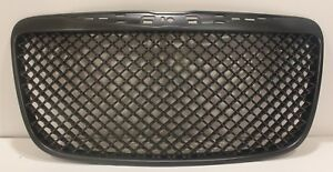 2011 2014 Chrysler 300 300c Front Grille Hood Grille Black Bentley Style