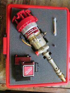 Sbc Small Block Chevy Mallory Sprintmag 2 Ignition W Coil Gear Drive Tack Spark