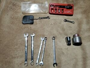 Incomplete Snap On 1 8 Inch Drive Set 1605 T 2 Keychain Snap On Mini Wrench