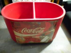 INSULATED COCA-COLA COOLER ON WHEELS