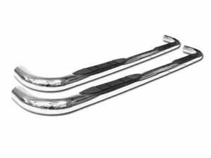 For 01 04 Chevy S10 gmc Sonoma Crew 3 Side Step Nerf Bars Running Boards Chrome