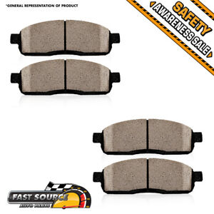 Front Ceramic Brake Pads For Shelby 2007 2008 2009 2010 2011 Ford Mustang