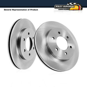Front Premium Oe Plated Brake Rotors For 2006 2009 Nissan Patrol