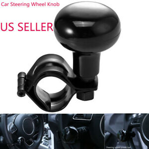 Auto Heavy Duty Suicide Knob Car Black Steering Wheel Spinner Handle Knob Usa