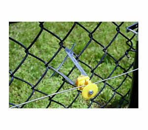 Fi shock Iclxy fs Electric Fence Chain Link Insulator 6 Yellow