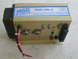 Msd 7ml 2 Part 7250 Dragster Drag Boat Marine Jet Flat Hydro