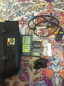 Tpi 712 Combustion Analyzer printer probe Kit Barely Used Excellent Condition