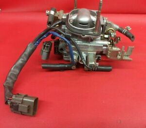 86 1989 Nissan D21 Pathfinder Pickup Throttle Body Assembly 3 0l Tbi Afh45m 14