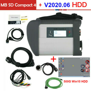 V2020 6 Software Hdd Wifi Mb Sd Connect Compact 4 Star Obd2 Diagnosis Tool