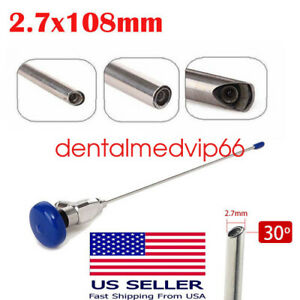 A 30 Endoscope 2 7x108mm Otoscope Auriscope Compatible With Storz wolf Stryker