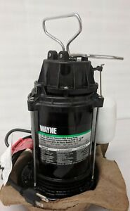 Wayne Cdu790 1 3 Hp Submersible Cast Iron And Steel Sump Pump See Description