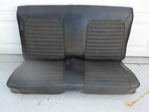 65 66 67 Mustang Convertible Rear Seats 1965 1966 1967