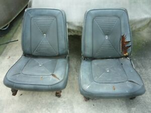 1965 Dodge Dart Front Bucket Seats