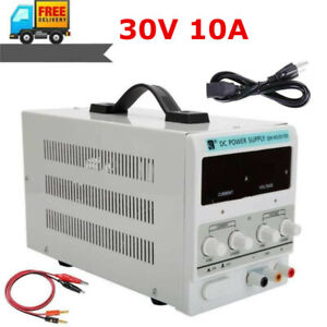 Qw ms3010d 30v 10a Adjustable Dc Stabilizer Power Supply us Standard Bs