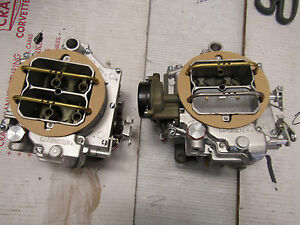1958 59 60 61 270 Hp Dual Quad Wcfb Carburetors Corvette Ale 2x4 Carter