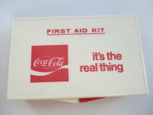 Coca-Cola Vintage First Aid Kit It's the Real Thing