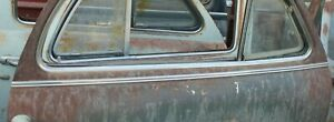 1946 1947 1948 Pontiac 2 Door Torpedo Right Belt Molding F