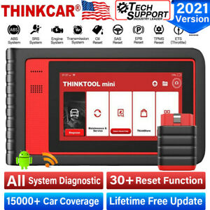Thinktool Mini Obd2 Scanner Auto Diagnostic Tool Code Reader All System Immo Dpf