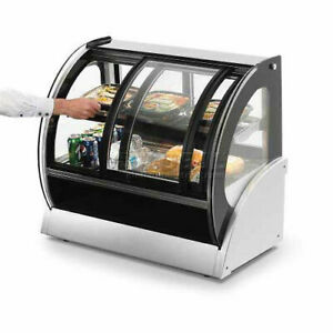 Vollrath Refrigerated Display Case 48 w Curved Glass